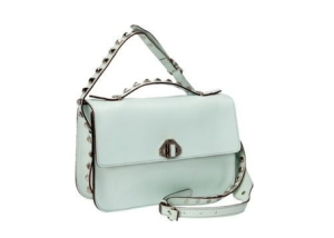 rebecca minkoff bridle leather blake bag in mint